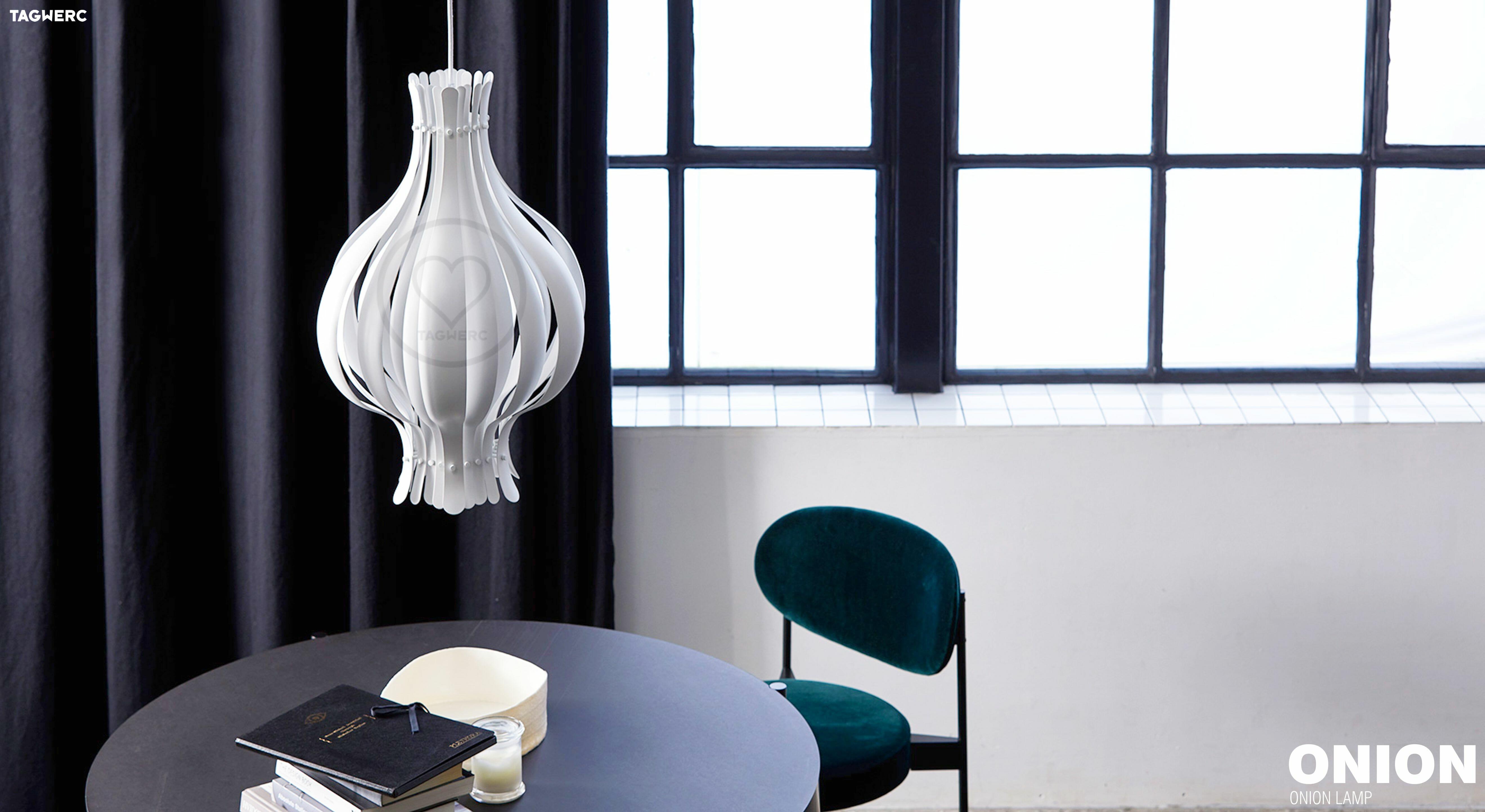 Verpan Ion Pendant Light White Ion Lamp Verner Panton