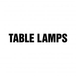 Table lamps in the TAGWERC Design STORE