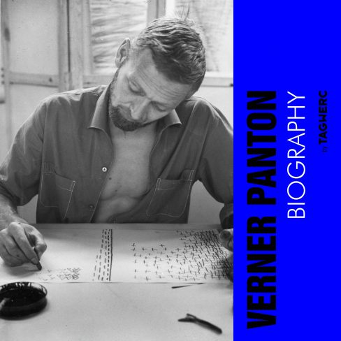 The Verner Panton biography written by Bianca Killmann for TAGWERC